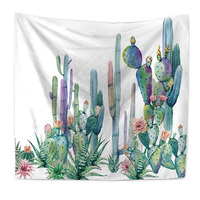 Tapestry Polyester Cactus New Arrival Beach Towl Wall Tapestry Mandala Tapiz Pared Wall Hanging Tenture Mandalas Tapestries