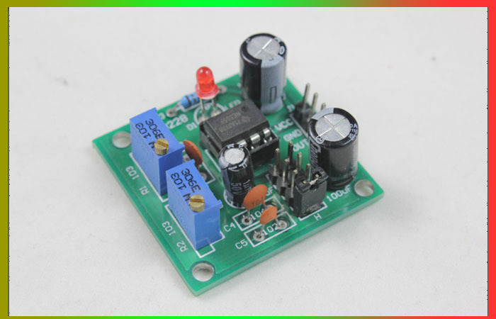 суинг велосипед ne pn501 NE555 pulse frequency adjustable duty cycle of square wave rectangular wave signal generator module