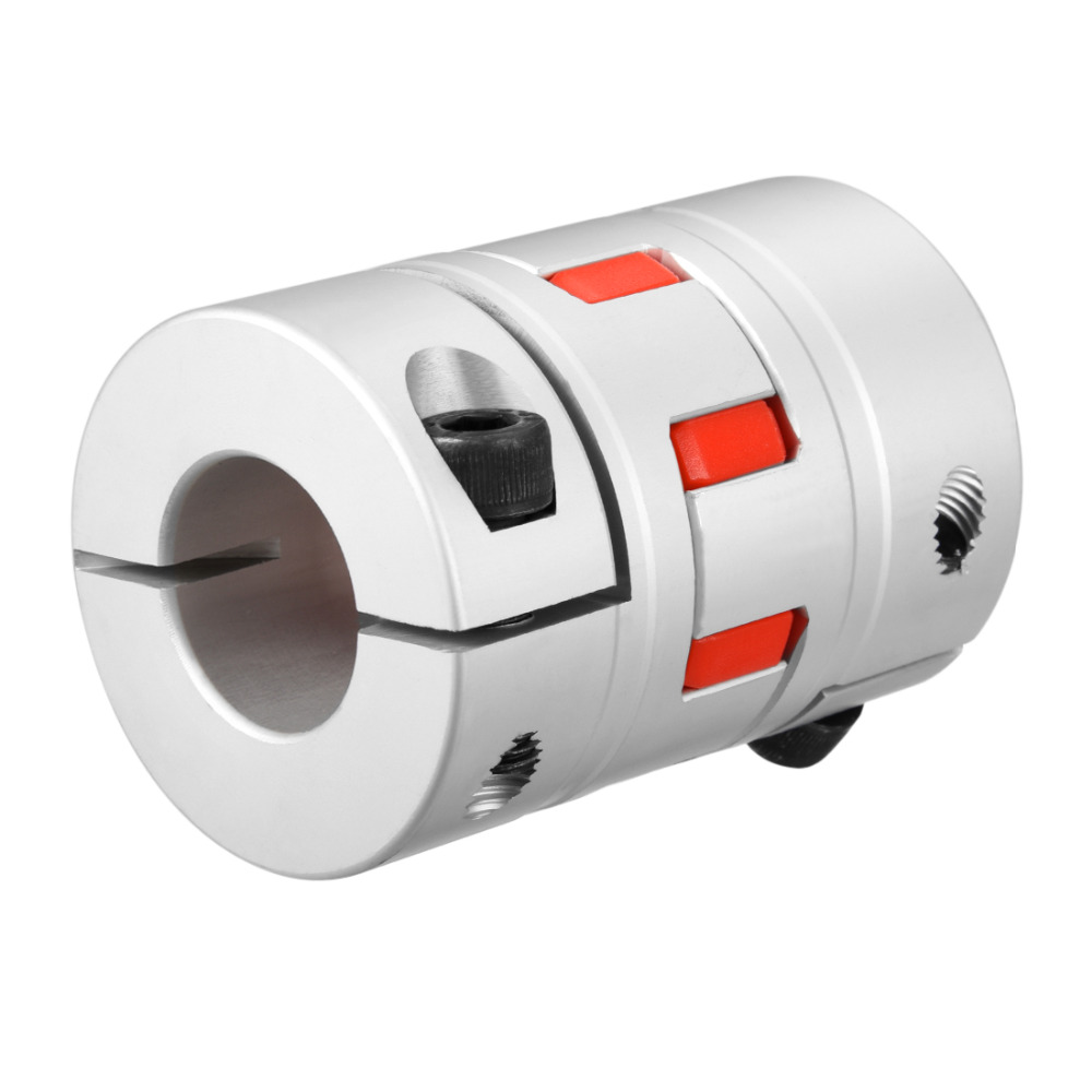 UXCELL New Arrival 1PCS L78xD55 Servo Stepped Motor M8 18 to 18mm Shaft Coupling Bore Flexible Coupler Joint Wear Resistant uxcell hot sale 1pcs l55xd40 servo stepped motor m6 12mm to 19mm shaft coupling bore flexible coupler joint wear resistant