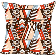Hot Sale Custom 3d Abstract Ultra Square Pillowcase Custom Zippered Pillow Cover Case 35X35,40×40,45x45cm(One Side)180522-02-02