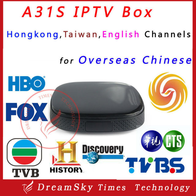 US $1148 0 |10pc Quad Core A31S Chinese IPTV Box with 1 year apk  account,LiveTV Hong kong,Taiwan,English channels,BBC,CNN,HBO,FOX,Star  Movie-in