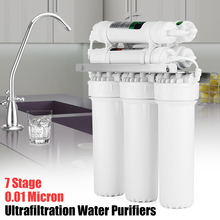 7 стадии фильтр для воды Системы с краном клапан для воды, трубы питьевой обратного осмоса Системы RO дома Кухня очиститель фильтры для воды