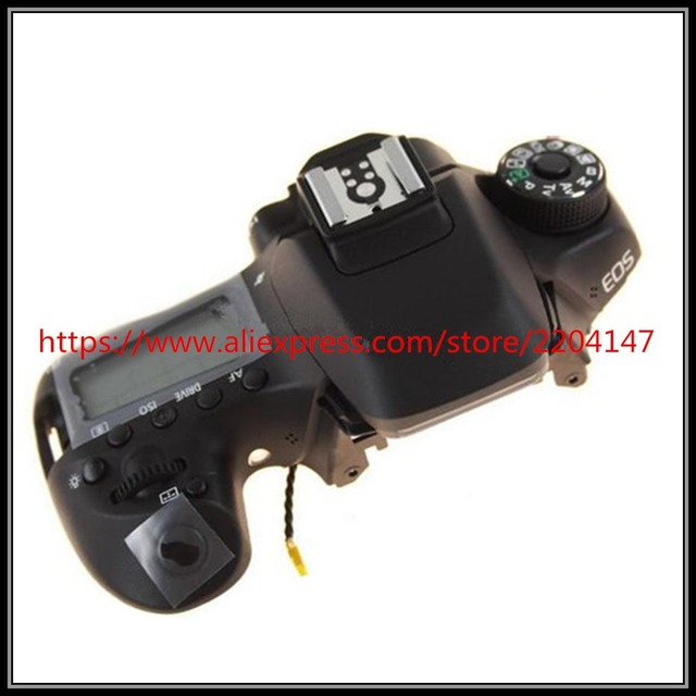 US $129 0 |Aliexpress com : Buy New original Top cover assembly with  Shoulder Control panel and button parts for canon EOS 80D SLR from Reliable  for