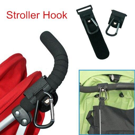 2pcs lot Baby Stroller Hook Stroller Accessories Pram Hooks Hanger for Baby Car Carriage Buggy Pushchair