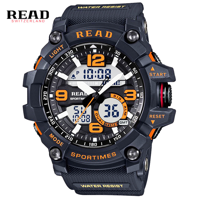 2017 New Brand Top Watch Men Military Sports Watches Fashion Silicone Waterproof LED Digital Watch For Men Clock digital-watch