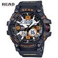 2017 Nueva Marca de Fábrica Superior Reloj de Los Hombres Militar Deportes Relojes de Silicona de Moda A Prueba de agua LLEVÓ el Reloj Digital Para Hombres Reloj digital-reloj