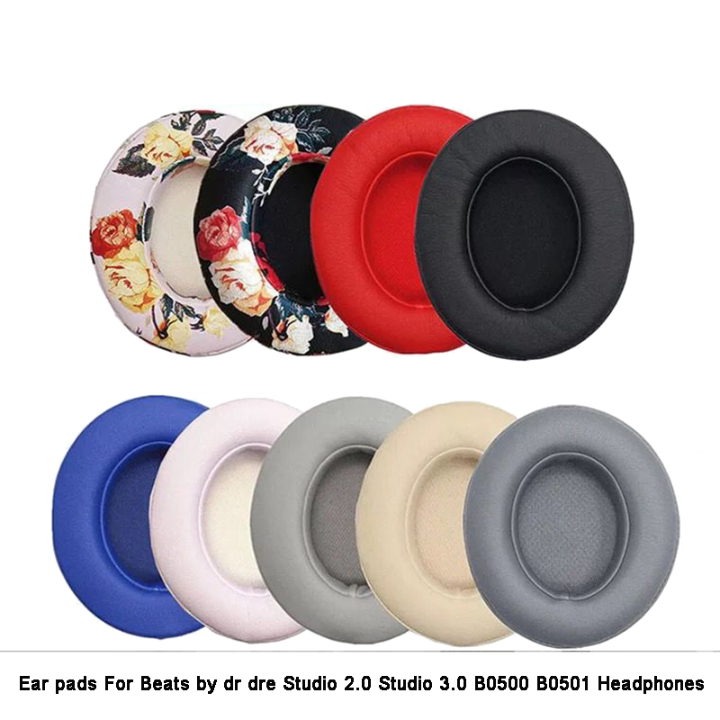 Replacement Earpads Cushions Ear Pillows Care Headphone For Beats By Dr Dre Studio 2.0 Studio 3 B0500 B0501 Wireless Headset