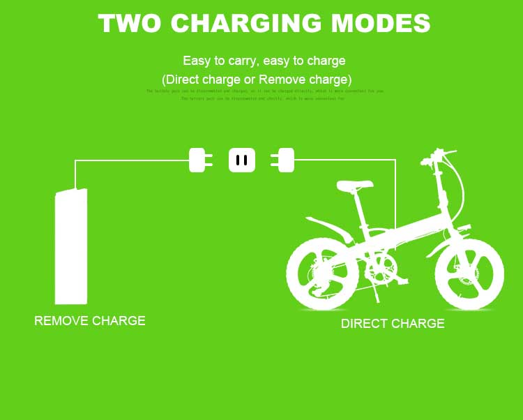 HTB1EIbmX0jvK1RjSspiq6AEqXXay - Daibot Transportable Electrical Bike Two Wheels Electrical Scooters 20 inch Brushless Motor 250W Folding Electrical Bicycle 48V For Adults