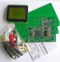 Educational Electronic DIY Kit Pocket LCD Digital Storage Oscilloscope 20MHz Professional BNC Probe Kit AVR Development