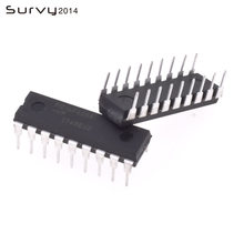 2 pces PIC16F628A-I/p dip-18 pic16f628a pic16f628 16f628 microcontroladores cmos de 8 bits baseados em flash