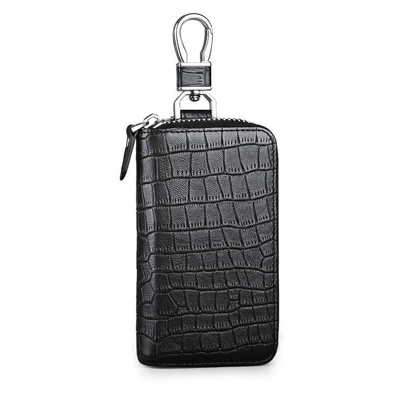 Натуральная кожа мужской брелок для ключей пояс висящий винтажный воловья Мода брелок пряжка для ключей от автомобиля