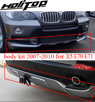 for BM X5 E70 body kit bodykit skid plate bumper, 2007 2008 2009 2010,brand new ABS, ISO9001 quality, promotion price