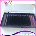 Free shipping,4trays per lot ,silk eyelash extension,0.10/0.15/0.20/0.20mm J/B/C/D curl all length eyelash extension