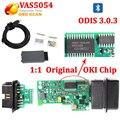 Original de la viruta de oki 5054A Escáner de Diagnóstico Por USB/Bluetooth V19 UDS V3.03 para vas5054a VAS5054 ODIS y pc opcional