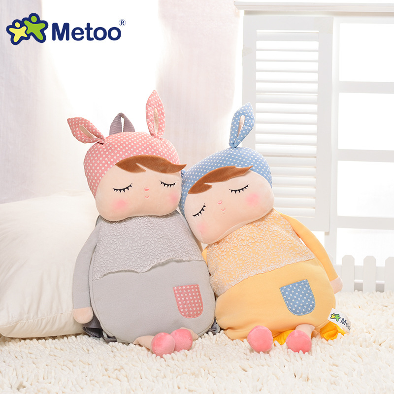 Metoo Angela Kid's Bags Plush Toys Baby Cute Bags ...
