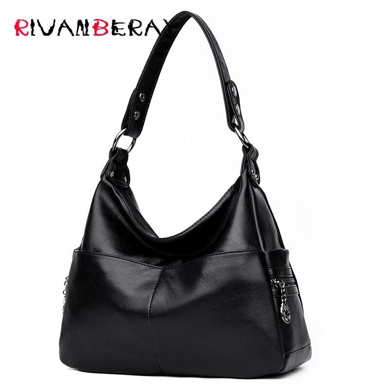 Famous Fashion Women Messenger Bags High Quality Soft Leather Luxury Ladies Handbags Designer Crossbody Shoulder Bags For Women