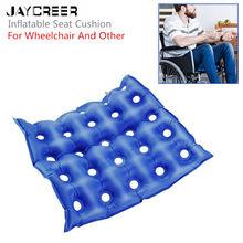 JayCreer Премиум воздушная надувная подушка-сиденье тепло Герметичная конструкция для Durabilityd Подушка для стула колеса и день в день использования