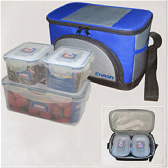 Thermal Cooler Bag Outdoor Waterproof Ice Bag 600D Insulated Picnic Lunch Box For para comida marmita termica CY-A024