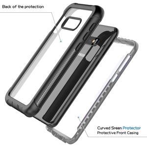 Image 2 - מלא גוף הגנת טלפון מקרה לסמסונג גלקסי S8 S9 S10 S10e S10 בתוספת הערה 9 ברור עמיד הלם כיסוי עם מסך מגן