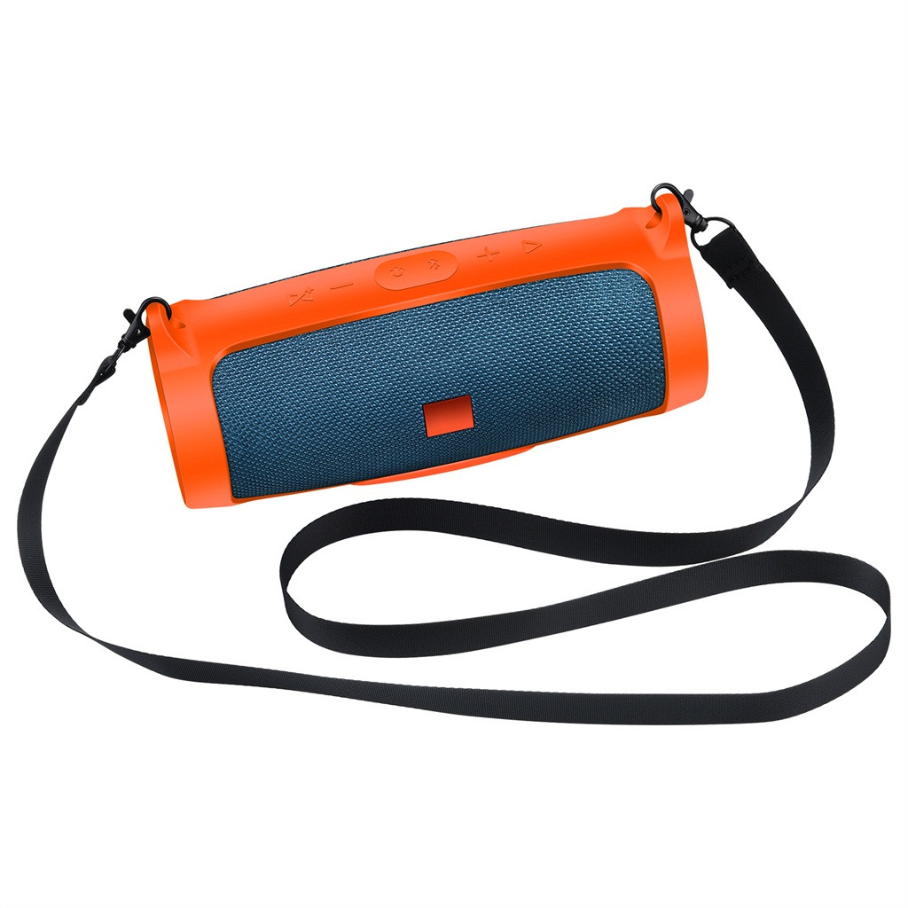 NEW Bluetooth Speaker Portable Mountaineering Silicone Case For JBL Charge 4 MI
