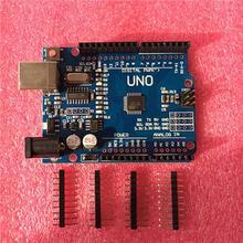 1pcs UNO R3 CH340G+MEGA328P for Arduino UNO R3 (NO USB CABLE) xinbudai
