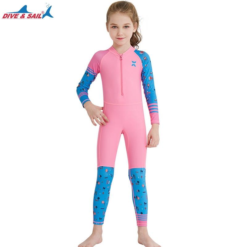 -Sun Protective Sunsuit Baby Beach One-Piece Swimsuit UPF 50