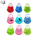 Baby Bibs Babador Silicone Bib Smock Bib Baby Care Bandana Bib High Quality Newborn Cartoon Waterproof Aprons