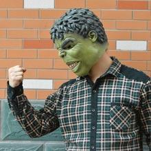 Wholesale Avengers Hulk Adult Latex Mask Cosplay Costumes Masks Full Face Helmet Halloween