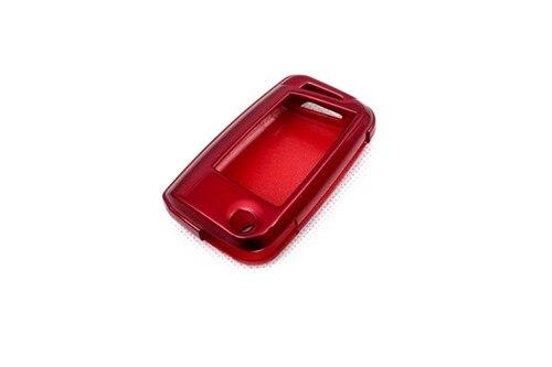 Жесткий Пластик БЕСКЛЮЧЕВОЙ дистанционный ключ защитный кожух(глянцевый металлический красный) для VW Volkswagen Golf MK7