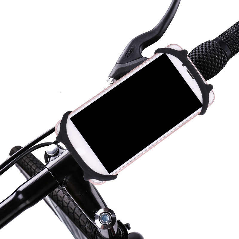 pretty nice c5785 34793 Overfly Bicycle Phone Holder Universal Mobile Cell Phone Holder Bike  Handlebar Clip Stand For iPhone Samsung GPS Mount Holders