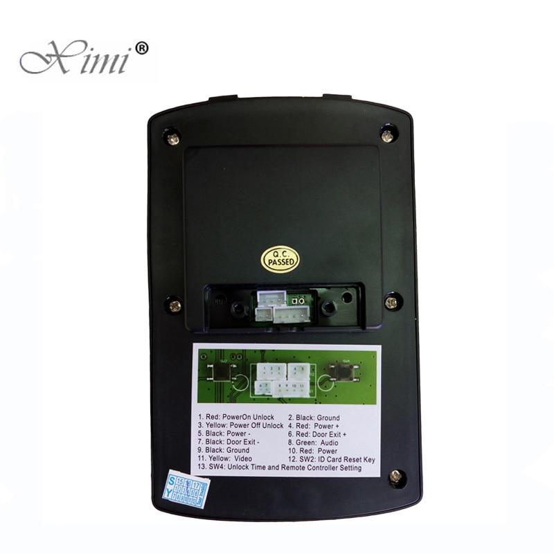 7 zoll Video Türklingel Zwei Outdoor Kamera Ein Innen Monitor 7 Wired Video Tür Telefon System Visuelle Gegensprechanlage Tür glocke - 5