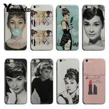 yinuoda rick and morty mr pickles rick newest super cute phone cases for iphone 8 8plus 7 7plus 6s 6splus xsmax x xs xr Yinuoda Audrey Hepburn For iphone 7 6s New High Quality Luxury phone case For iPhone 6 6sPlus 7 8plus X XS XR XSMax Coque Shell