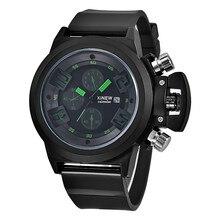 Relojes 2016 hombres Deportes Relojes de Cuarzo Para Hombre Relojes de Lujo Relojes de pulsera de Cuero Hombres Relogio Relojes Reloj Envío Gratis