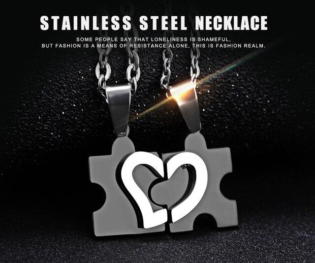 Купить комплект из 2 отполированных деталей нержавеющей стали с сердечком