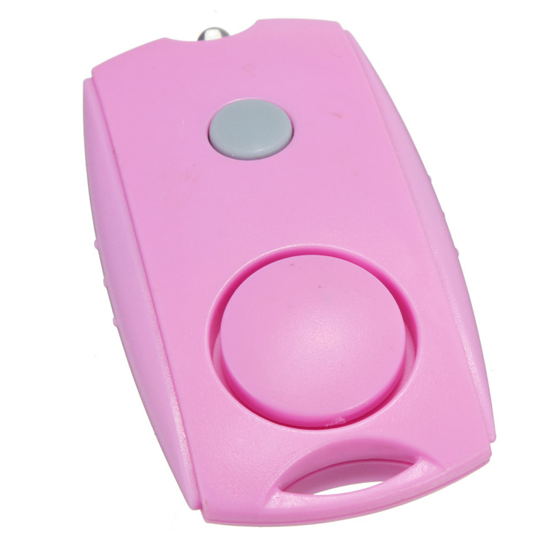 New Arrival Convinient Personal Panic Rape Attack Safety Security Squeeze Alarm Protection With Light personal safety pull ring triggered anti attack personal protection security alarm for ladies babies elder person