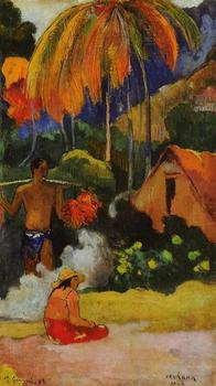 High quality Oil painting Canvas Reproductions The moment of truth II (1893)  by Paul Gauguin hand painted