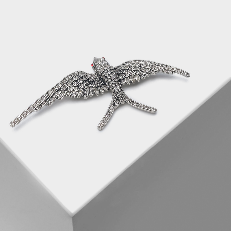 Amorita boutique Flying swallow designs animal pin crystal popular brooch-in Brooches from Jewelry & Accessories on AliExpress - 11.11_Double 11_Singles' Day 1