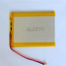 500 stücke Großhandel Wiederaufladbare Batterien 3,7 v 4000 mah Lipo Lithium-Batterie Li-Polymer Akku Bateria Für MP5 Smartwatches