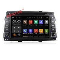 Quad core Android7.1 HD 1024*600 2GRAM Car multimedia player radio cassette for KIA Sorento 2010 2011 2012 dvd gps ipod bt audio