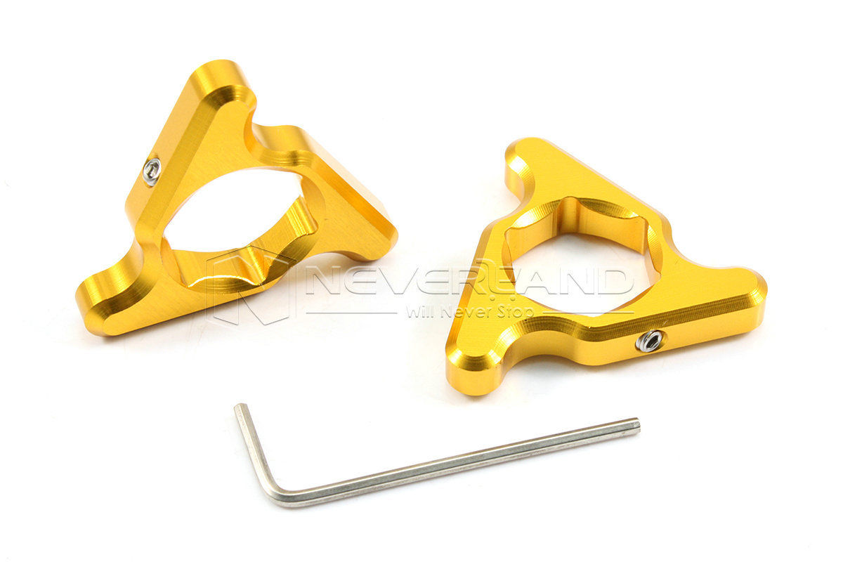 1pair 19mm Gold Motorcycle Aluminum Fork Preload Adjusters For KAWASAKI ZX6R Z1000 VERSYS Wholesale free shipping for bmw s1000rr motorcycle accessories 17mm fork preload adjusters 2pcs gold