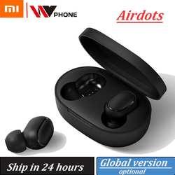 Airdots Xiaomi Redmi Airdots TWS Беспроводные Наушники управление голосом Bluetooth 5,0 контроль шумоподавления