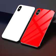 hot deal buy weeyrn grandient full tempered glass 3d case for iphone xs max xs luxury hard case glossy phone case cover for iphone xs xs x