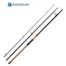 3 sections 3.6m 3.9m 40-100kg easy to fly fishing carbon carp fishing rod spinning pole