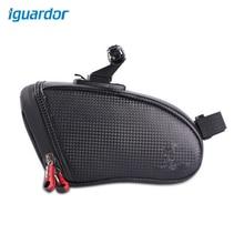 Iguardor Bicycle Saddle Bag Ridding Equipment Waterproof Latex Tail Package for Bike 18 9 10 5