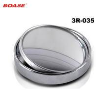 2 шт  Автомобильное зеркало заднего вида маленькое круглое для