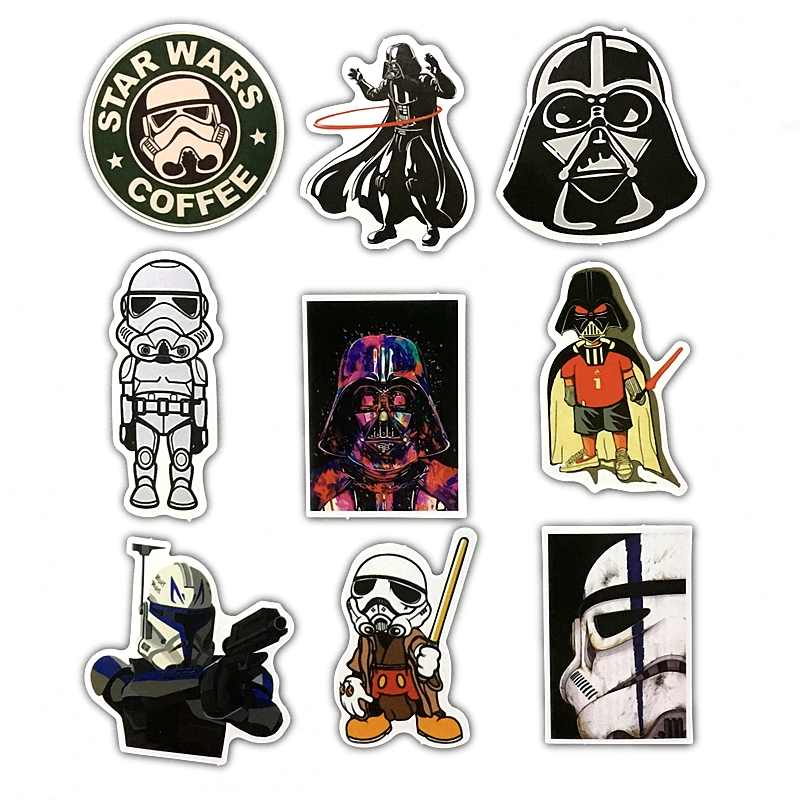 24Pcs/Lot Very Cool Styling Star Wars The Stickers For Car ...