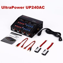 Lipo Battery Charger UltraPower UP240AC Plus 240W/4x60W/2x120W 4 Port Multi Balance Charger For RC Quadcopter FPV