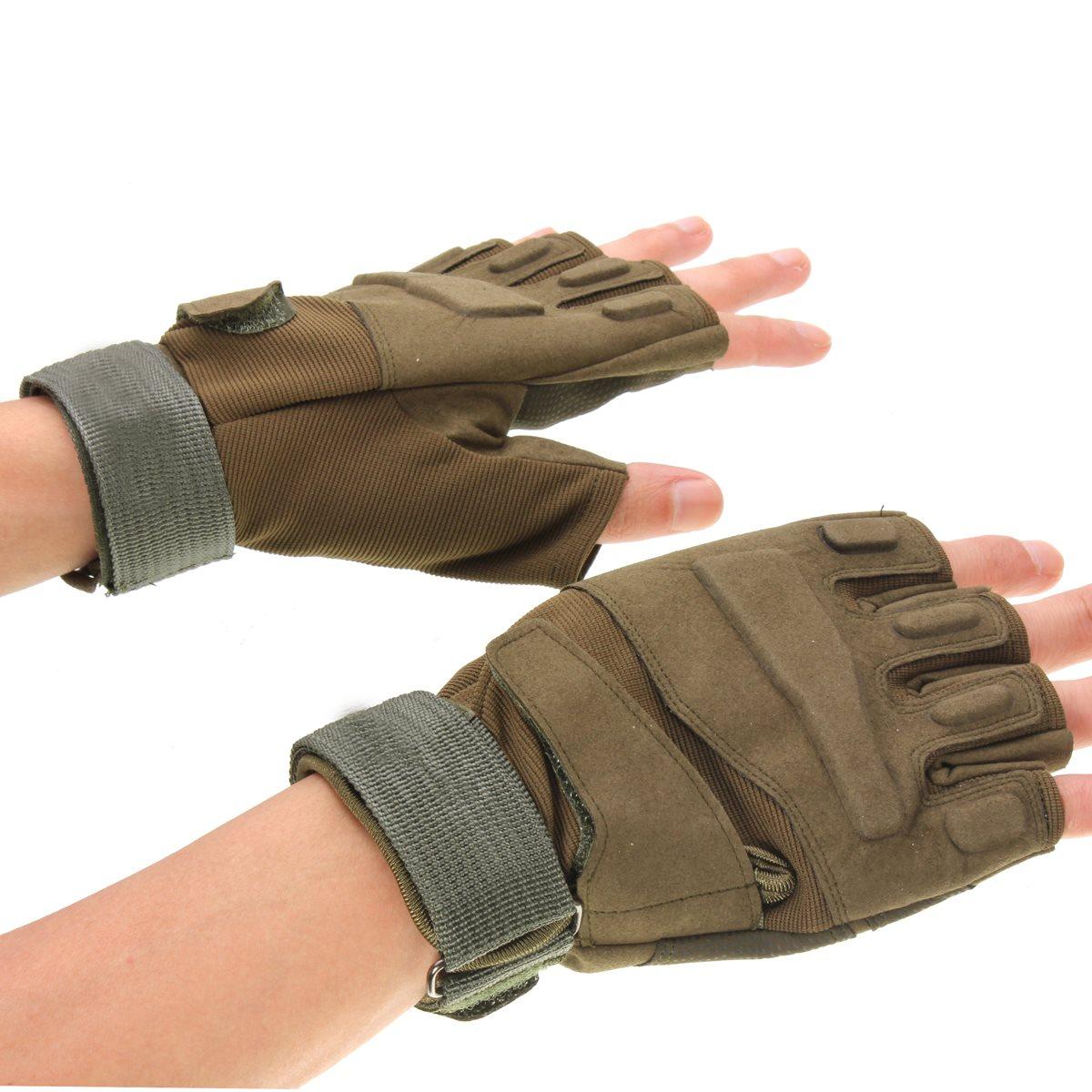 Motorcycle gloves half finger - 3 Colors M L Xl Outdoor Sports Half Finger Gloves Bike Glove Motorcycle Gloves China