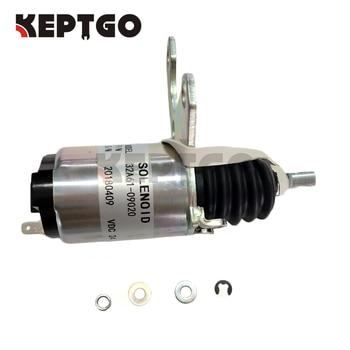 32A61-09020 ME736957 24V Fuel Shutoff Solenoid For Caterpillar E305/306/307/308