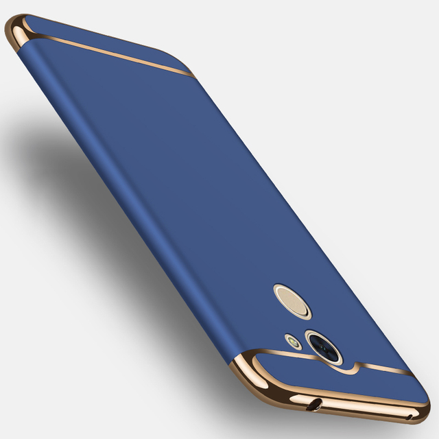 sneakers for cheap c1d4d 2f3d8 US $3.99 20% OFF MAKAVO For Huawei Y7 Prime Case 3in1 Matte Fundas Hard  Back Cover Creative Housing Phone Cases-in Fitted Cases from Cellphones &  ...